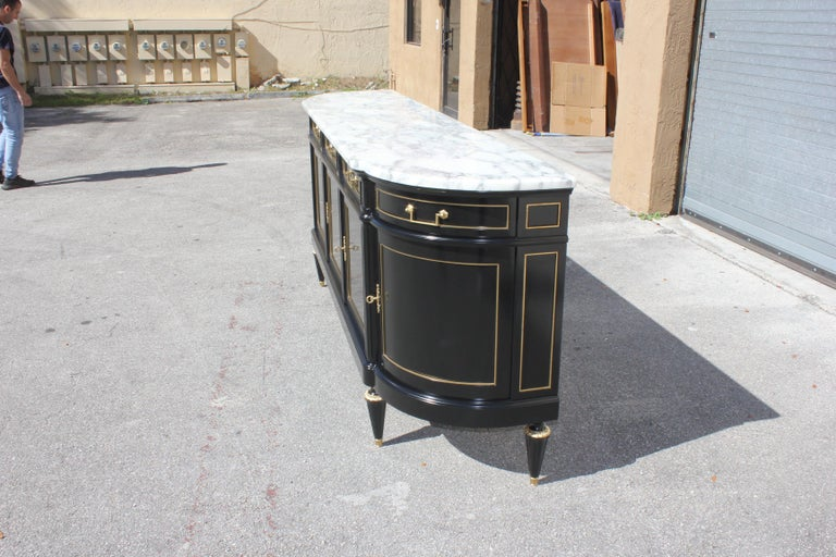 Beautiful Antique Sideboard or Buffet, circa 1910s For Sale 6