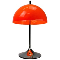Beautiful German Space Age Table Lamp by WILA