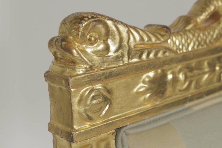 Beautiful Gold Gilt Armchair, circa 1880-1900 For Sale 2
