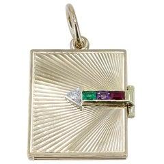 Beautiful Gold Tiffany & Co. Dear Locket