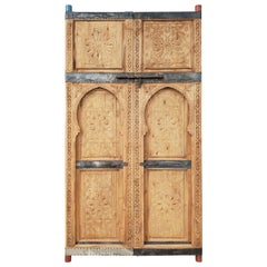 Beautiful Hand Carved Moroccan Double Door
