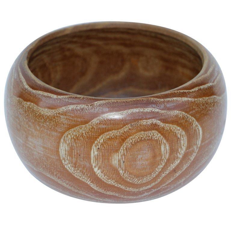 Beautiful Hand Turned Exotic Wood Bowl