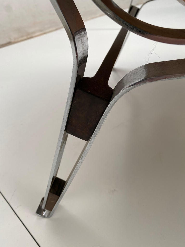 Beautiful Ico Parisi '856' Leather  Lounge Chairs, Cassina, 1957 For Sale 7