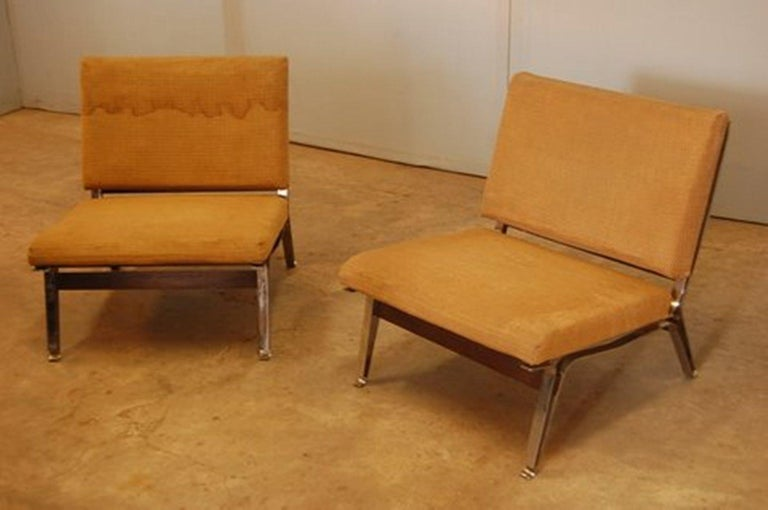 Beautiful Ico Parisi '856' Leather  Lounge Chairs, Cassina, 1957 For Sale 10
