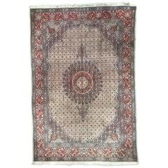 Schöner indischer Vintage Teppich