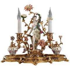 Beautiful Inkwell Attributed to L'Escalier de Cristal