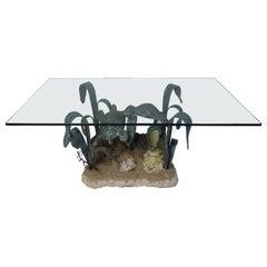 Beautiful Iron Turtle Reef Coffee Table
