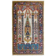 Beautiful Isfahan Prayer Rug