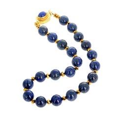 Beautiful Lapis Lazuli Necklace