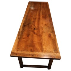 Beautiful Large Antique French Country Dining Room Table
