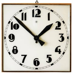 Beautiful Large Bauhaus Wall Clock