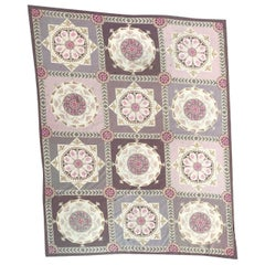 Beautiful Large Contemporary Aubusson Style Needlepoint Rug