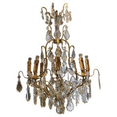 Beautiful Large French Chandelier, circa 1900