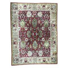 Beautiful Large French Janus Rug Agra Design