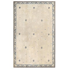 Beautiful Large Size Antique Ivory Chinese Rug. Size: 11 ft 4 in x 17 ft 5 in