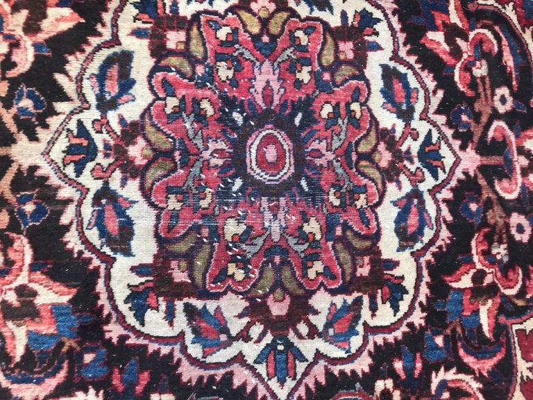 Beautiful Large Vintage Bakhtiar Rug 2