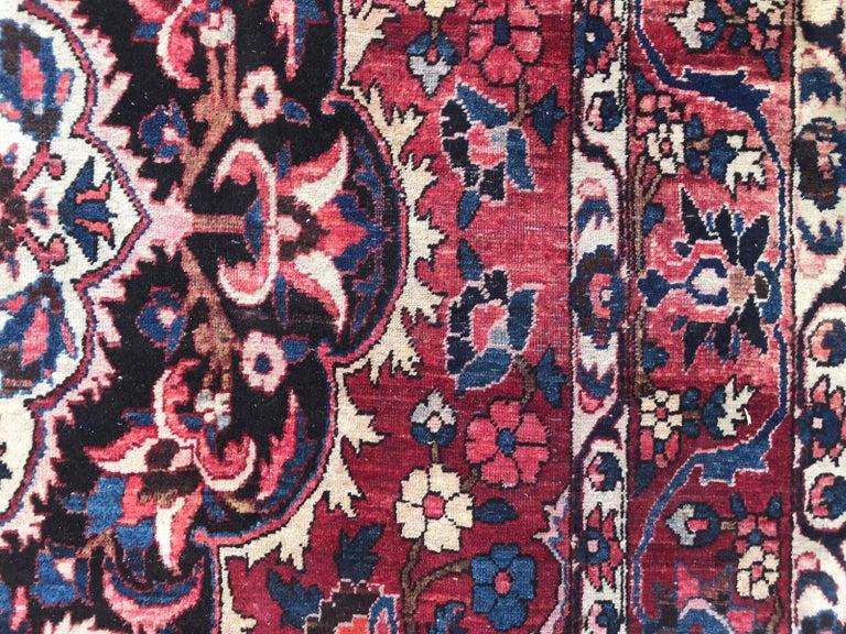 Beautiful Large Vintage Bakhtiar Rug 3