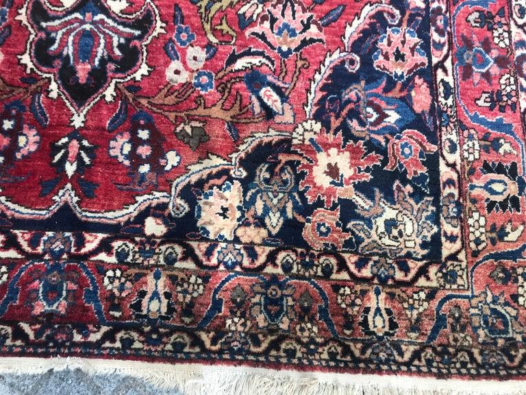 Asian Beautiful Large Vintage Bakhtiar Rug