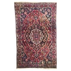Beautiful Large Vintage Bakhtiar Style Rug