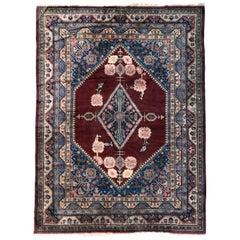 Beautiful Large Vintage Samarkand Rug