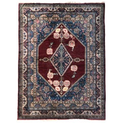 Beautiful Large Vintage Samarkand Rug