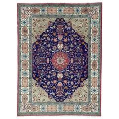 Beautiful Large Vintage Tabriz Rug