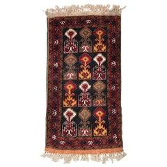 Beautiful Little Vintage Baluch Rug