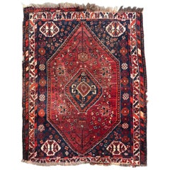 Beautiful Little Vintage Shiraz Rug