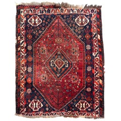 Beautiful Little Vintage Shiraz Rug