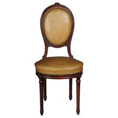 Beautiful Louis XVI Salon Chair, France, around 1920