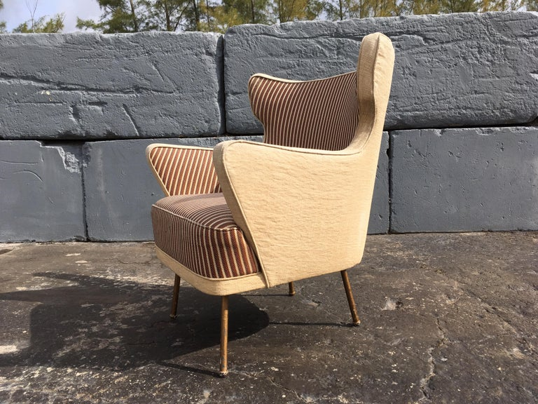 Beautiful Lounge Chairs in the Style of Gio Ponti For Sale 6