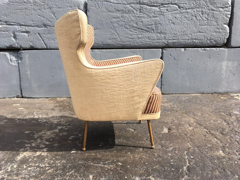 Beautiful Lounge Chairs in the Style of Gio Ponti For Sale 3