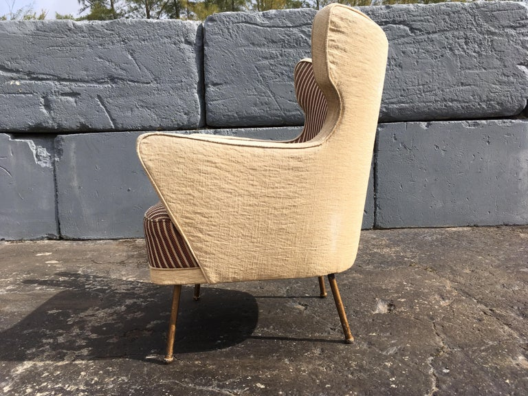 Beautiful Lounge Chairs in the Style of Gio Ponti For Sale 5