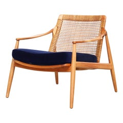 Beautiful Lounge Easy Chairs by Hartmut Lohmeyer for Wilkhahn, 1950s