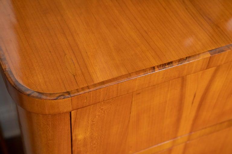 Baltic Beautiful Maple Biedermeier Commode For Sale