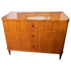 Beautiful Maple Biedermeier Commode
