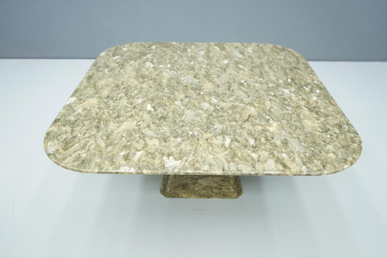 Beautiful Marble Coffee Table, 1970s For Sale 5