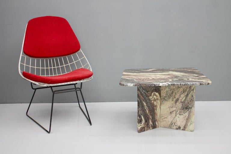 Beautiful Marble Side Table, Italy, 1980s For Sale 1
