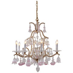 Beautiful Maria Theresia Chandelier in the Baroque Style 1880 Original