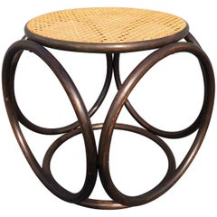 Beautiful Michael Thonet Stool or Ottoman