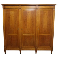Beautiful Mid-20th Century French Directoire Style Armoire