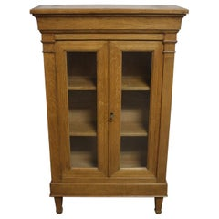 Beautiful Mid-20th Century French Small Vitrine, Directoire Style