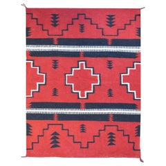 Beautiful Mid-20th Century Navajo Rug