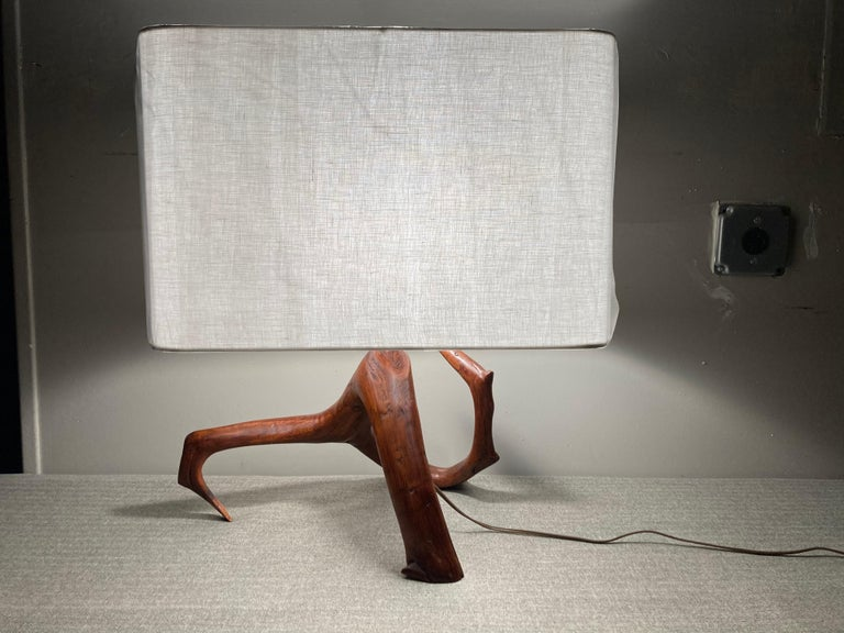Beautiful table lamp, hardware and shade are new.