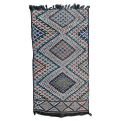Beautiful Mid Century Tribal Berbere Moroccan Rug