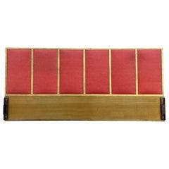 Beautiful Midcentury Brass Headboard by Paul McCobb for Calvin King