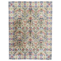 Beautiful Midcentury French Rug