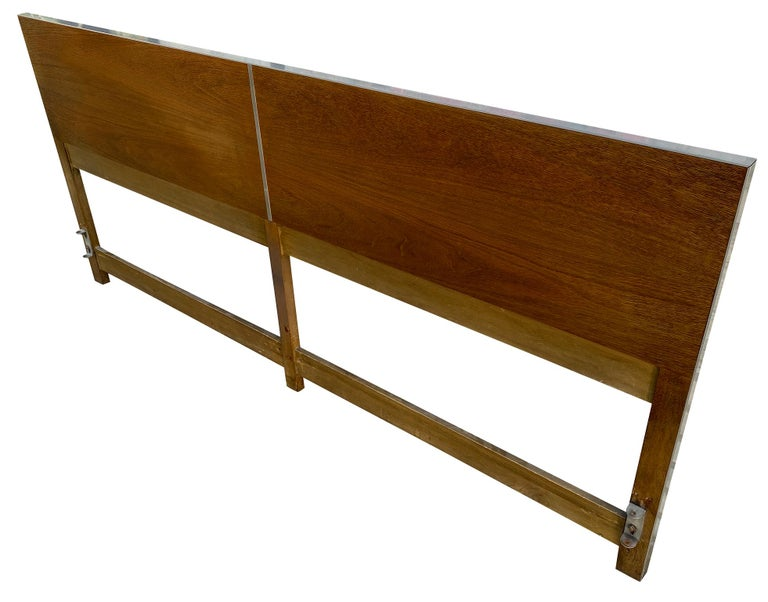Mid-Century Modern Beautiful Midcentury Headboard by Paul McCobb for Calvin King Bed For Sale