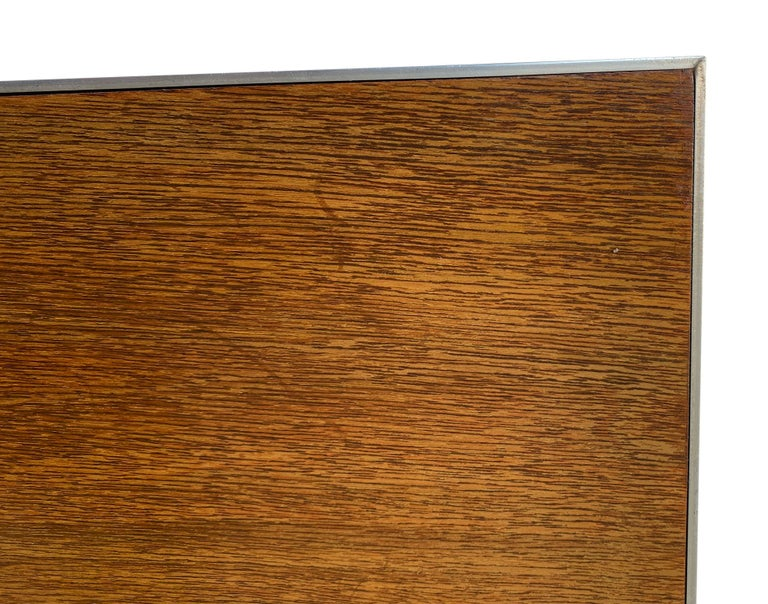 20th Century Beautiful Midcentury Headboard by Paul McCobb for Calvin King Bed For Sale
