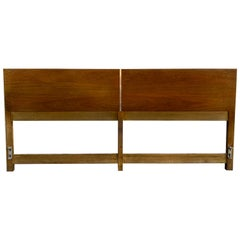 Beautiful Midcentury Headboard by Paul McCobb for Calvin King Bed